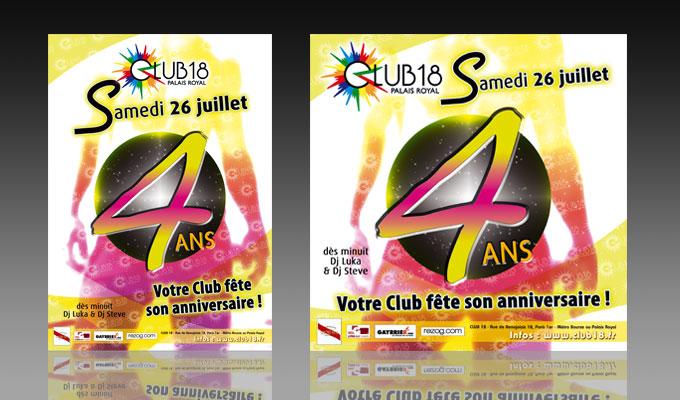 Visuels Club 18 par Actidis