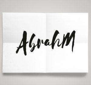 <span>Abrahm</span><i>→</i>