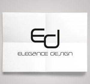 <span>Elegance Design</span><i>→</i>