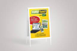 Visuels pour Eurotiercé par Actidis