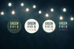 Logo Green Field Studio par Actidis