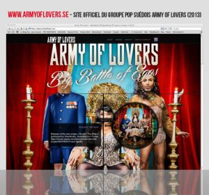 <span>Army Of Lovers (web)</span><i>→</i>