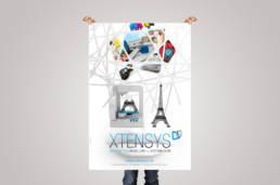 Identité visuelle Xtensys par Actidis